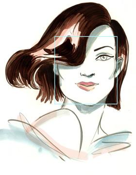 Haarschnitt eckige Gesichtsform