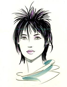 Haarschnitt herzförmige Gesichtsform